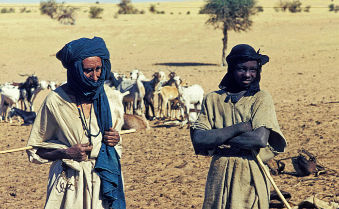 Two Tuareg men in Mali.