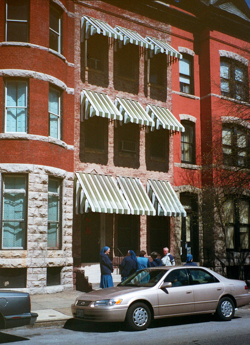 2009 McCulloh Street, Baltimore. Photo taken in 1999.