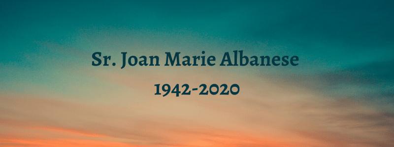 Sr. Joan Marie Albanese