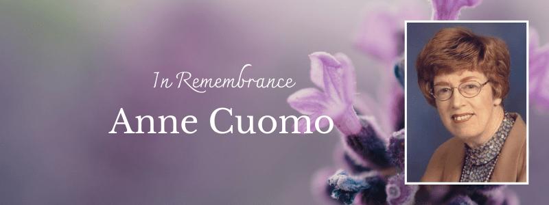 In Remembrance: Anne Cuomo